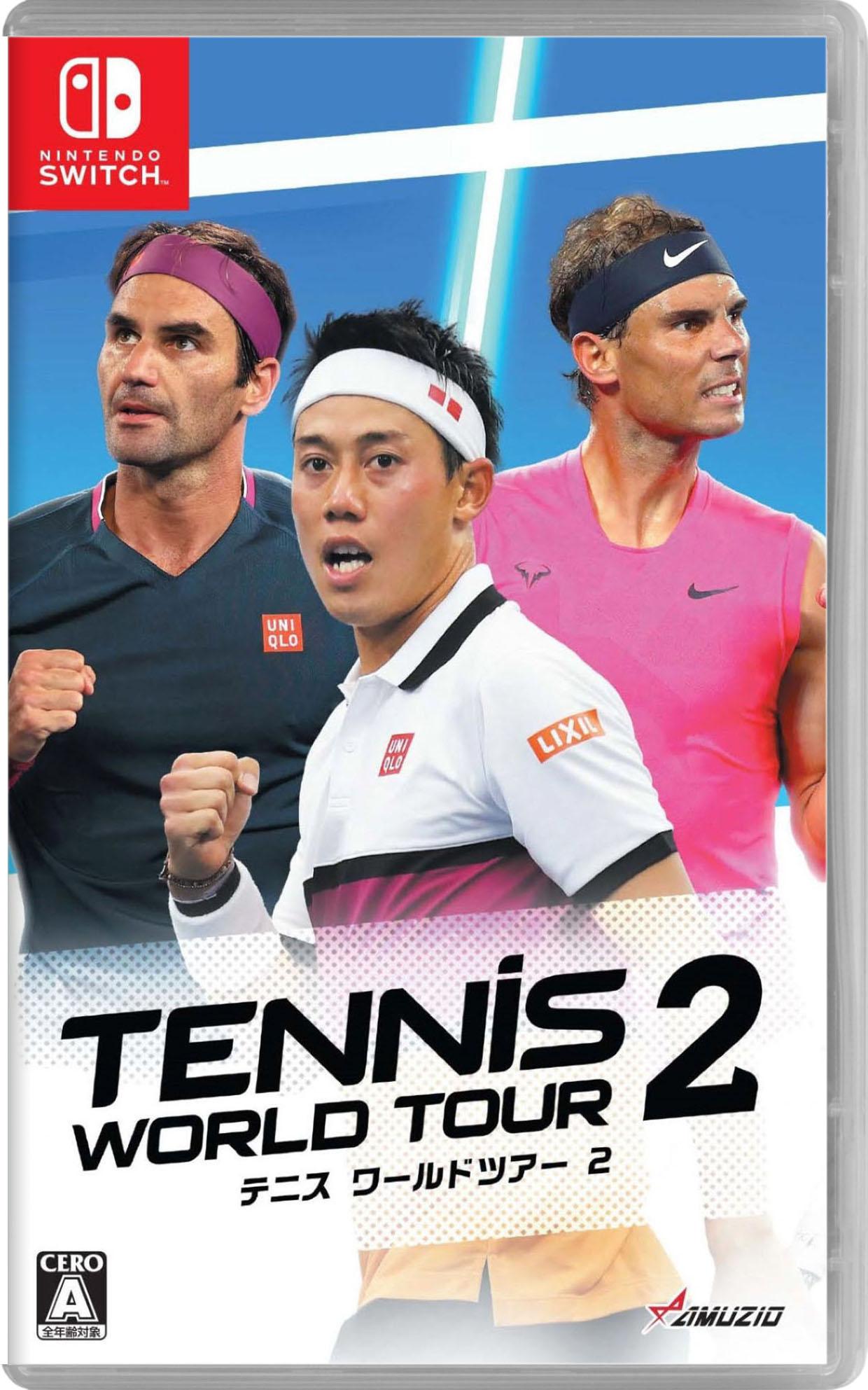 3980円以上で送料無料 新作 人気 中古 テニス ワールドツアー 2ソフト:ニンテンドーSwitchソフト ゲーム スポーツ 人気海外一番
