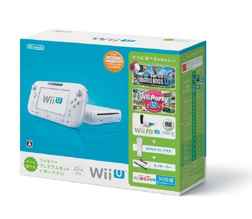 【中古】Wii U すぐに遊べるファミリープレミアムセット+Wii Fit U (シロ) (限定同梱版)