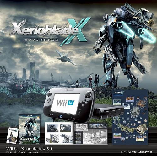 【中古・箱無・説明書有】Wii U ゼノブレイドクロス セット (同梱版)