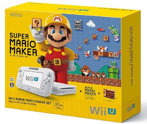 【中古・箱有・説明書無】Wii U スーパーマリオメーカー セット