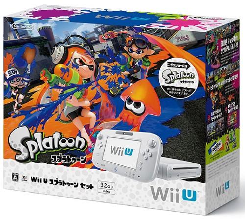 【中古】Wii U スプラトゥーン セット