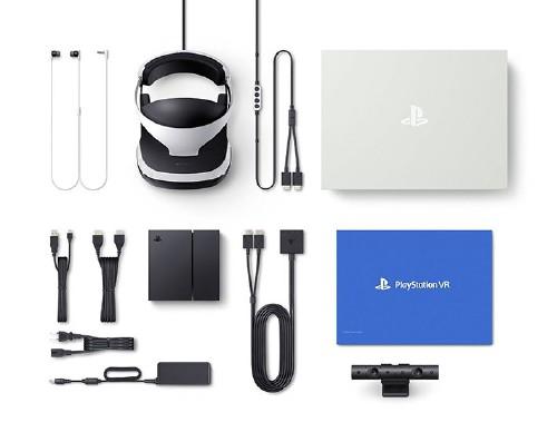 【中古】PlayStation VR PlayStation Camera同梱版 CUHJ-16001 (同梱版)
