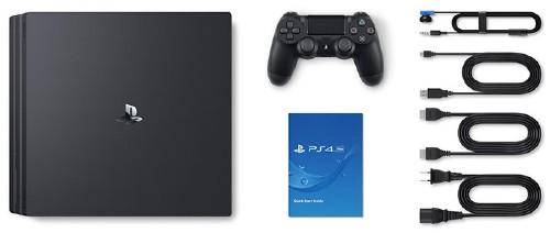 【中古】PlayStation4 Pro CUH-7000BB01 ジェット・ブラック 1TB
