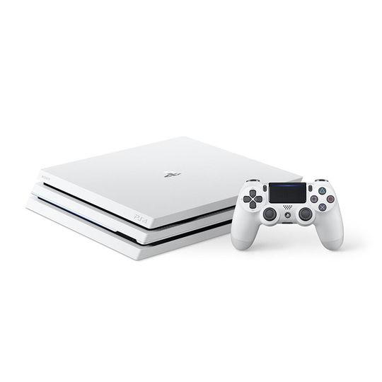 【箱説なし・付属品なし・傷なし】PlayStation4 Pro CUH-7100BB02 グレイシャー・ホワイト 1TBプレイステーション4 ゲーム機本体