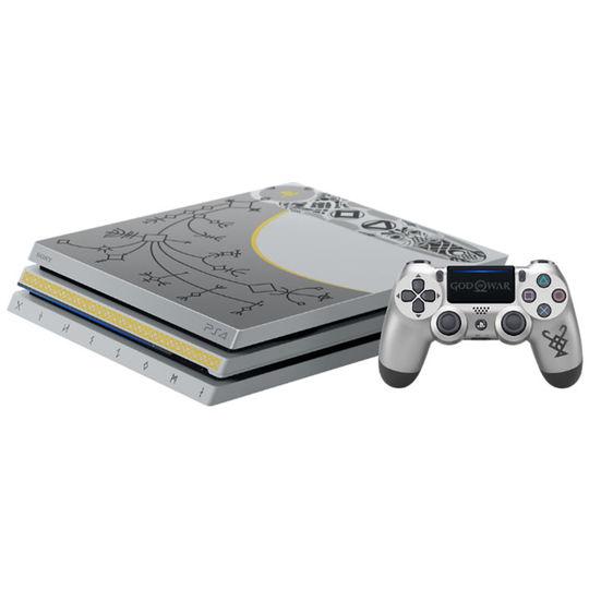 【中古】【18歳以上対象】PlayStation4 Pro ゴッド・オブ・ウォー リミテッドエディション (同梱版)
