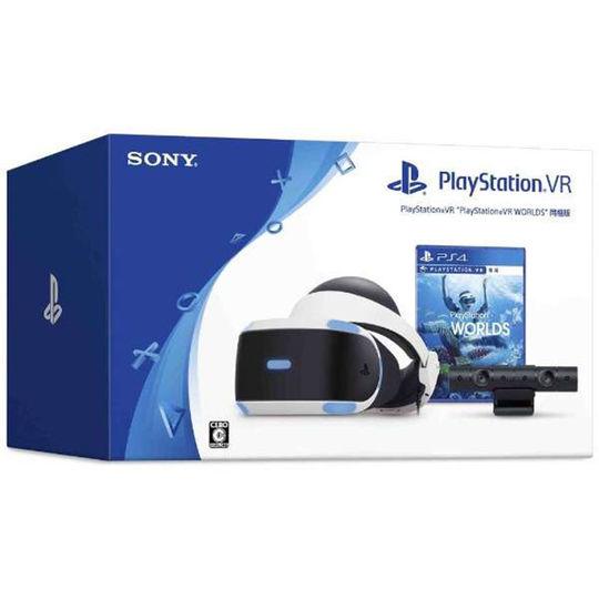 【4000円以上で送料無料】 【中古】PlayStation VR PlayStation VR WORLDS CUHJ-16006 (同梱版)周辺機器(メーカー純正)ソフト/その他・ゲーム