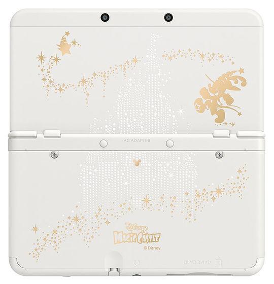 【中古・箱説なし・付属品なし・傷なし】ディズニー マジックキャッスル マイ・ハッピー・ライフ2 Newニンテンドー3DS同梱パック (ソフトの付属は無し)ニンテンドー3DS ゲーム機本体
