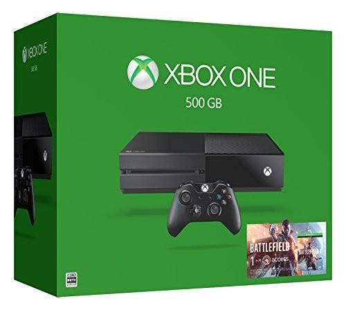 【SOY受賞】【箱説あり・付属品あり・傷なし】Xbox One 500GB (バトルフィールド1 同梱版)XboxOne ゲーム機本体