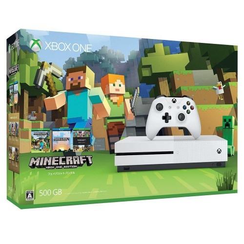 【中古】Xbox One S 500GB (Minecraft 同梱版)