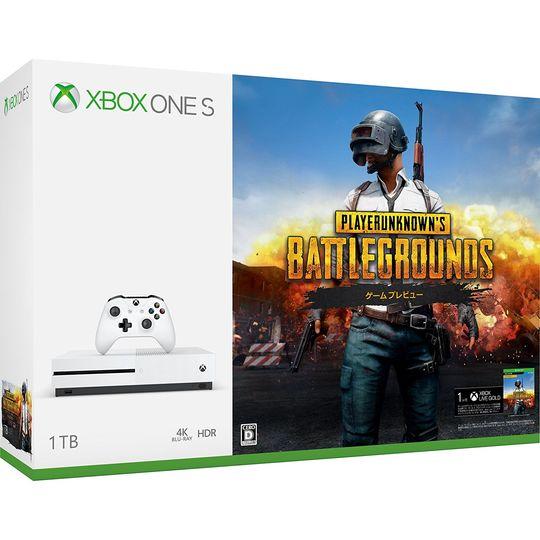 【中古】Xbox One S 1TB (PlayerUnknown's Battlegrounds 同梱版)