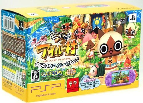 【中古】PlayStation Portable はじめようアイルー村パック (同梱版)