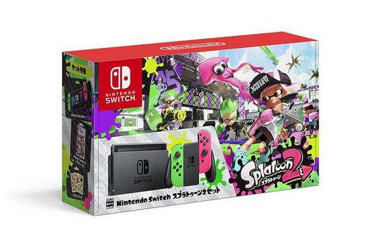 【箱説あり・付属品あり・傷なし】Nintendo Switch スプラトゥーン2セット (同梱版)ニンテンドーSwitch ゲーム機本体
