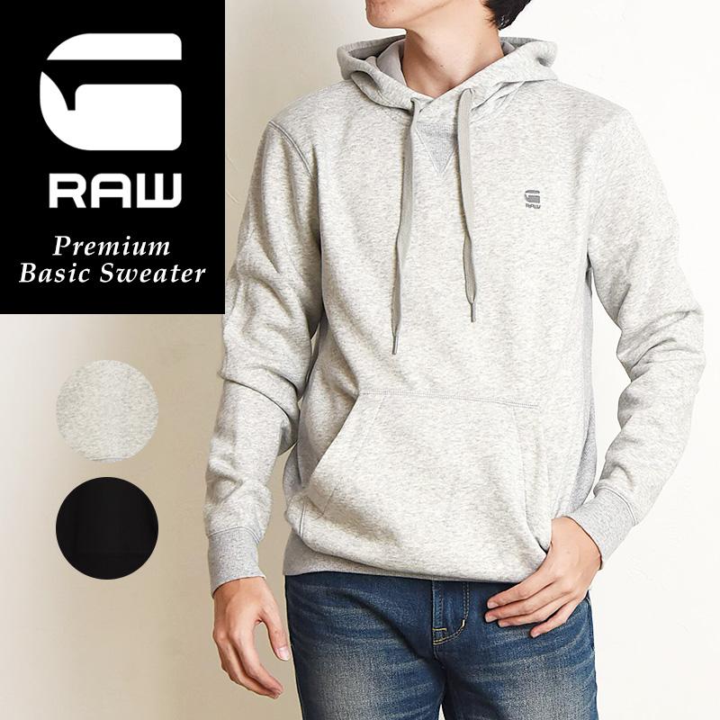 SALEセール5%OFF G-STAR RAW ジースターロウ モタックエックス フーディー パーカー 長袖 メンズ トレーナー スェット Premium Basic Sweater D16121-C235【gs2】