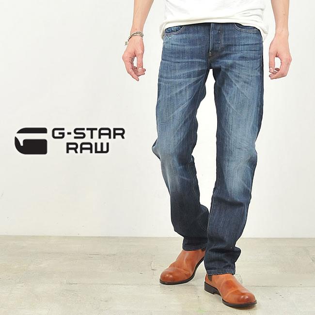 【10%OFF/送料無料】G-STAR RAW ジースターロウ ATTACC STRAIGHT ストレートフィットデニムパンツ/ジーンズ 51008-6566【郵便局/コンビニ受取対応】