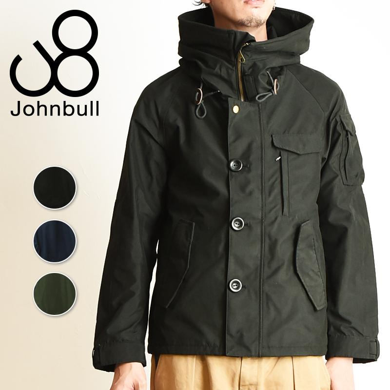 ジョンブル Johnbull ユーティリティ シェルジャケット テトラテックス 撥水 防水 透湿 防寒 ミリタリージャケット メンズ 16580