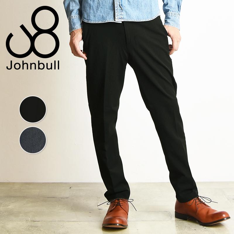 裾上げ無料 ジョンブル Johnbull メンズ アウトラスト イージーパンツ スラックス 21206