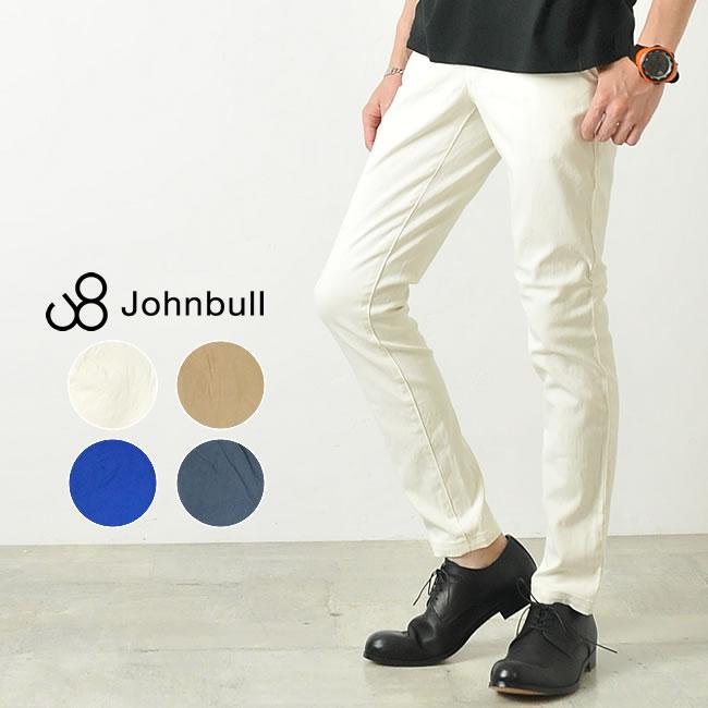 ジョンブル Johnbull **メンズ カラースリムパンツ 11810