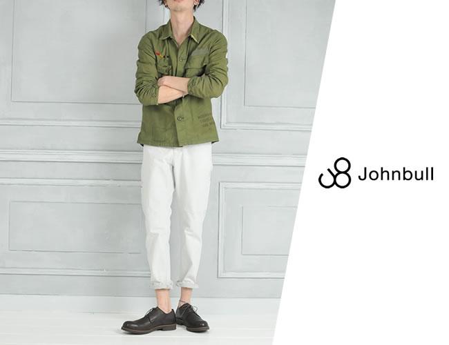 【マラソン期間限定ポイント2倍】SALEセール10%OFF 裾上げ無料 ジョンブル Johnbull **スリム ペインター デニムパンツ ジーンズ メンズ 日本製 21019