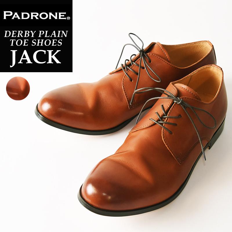 【期間限定!ポイント11倍】パドローネ PADRONE パドロネ JACK ジャック CAMEL キャメル ダービープレーントゥシューズ メンズ 革靴 短靴 PU7358-2001-11C