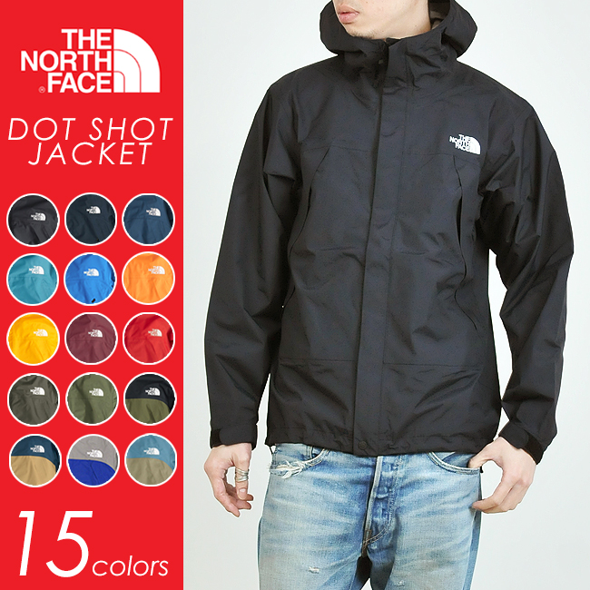 THE NORTH FACE ノースフェイス ドットショットジャケット(15色) NP61530 メンズ/マウンテンジャケット/マウンテンパーカー/ナイロンパーカー キャンプ アウトドア フェス