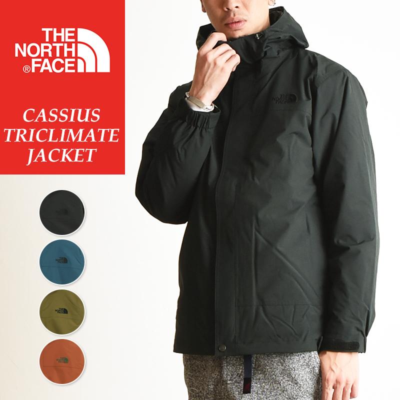 ノースフェイス THE NORTH FACE カシウストリクライメートジャケット 中わた入りインナー付きナイロンジャケット メンズ アウター マウンテンパーカー NP61735