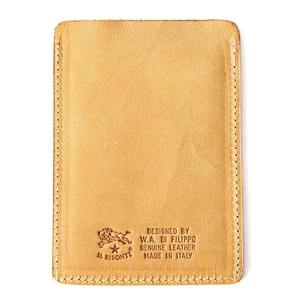 【正規取扱店】イルビゾンテ IL BISONTE レザー パスケース カードケース 定期入れ 411618 売れ筋