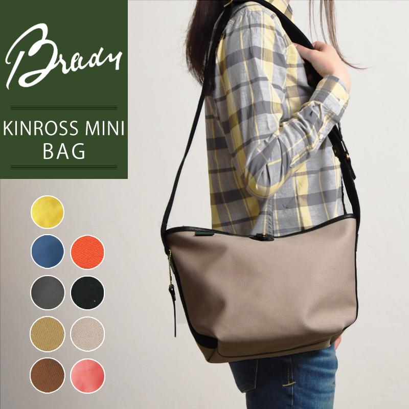 ラッピング無料 ブレディ BRADY キンロスミニ KINROSS MINI ショルダーバッグ レディース メンズ 斜めがけ 軽量 キャンバス 布 鞄 かばん バッグ