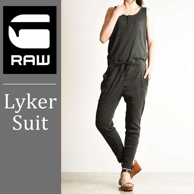 SALEセール10%OFF【送料無料】G-STAR RAW ジースターロウ Lyker suit レディース ジャンプスーツ/ツナギ D05340-8998【gs2】