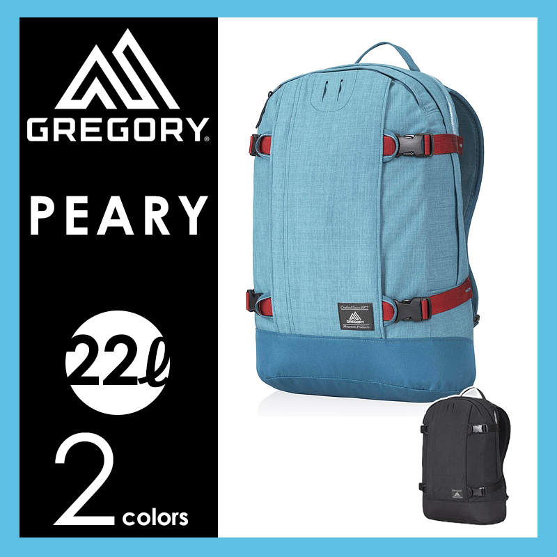 SALEセール【30%OFF/送料無料】GREGORY グレゴリー PEARY ピアリー バックパック/リュック(22L)744725276【郵便局/コンビニ受取対応】