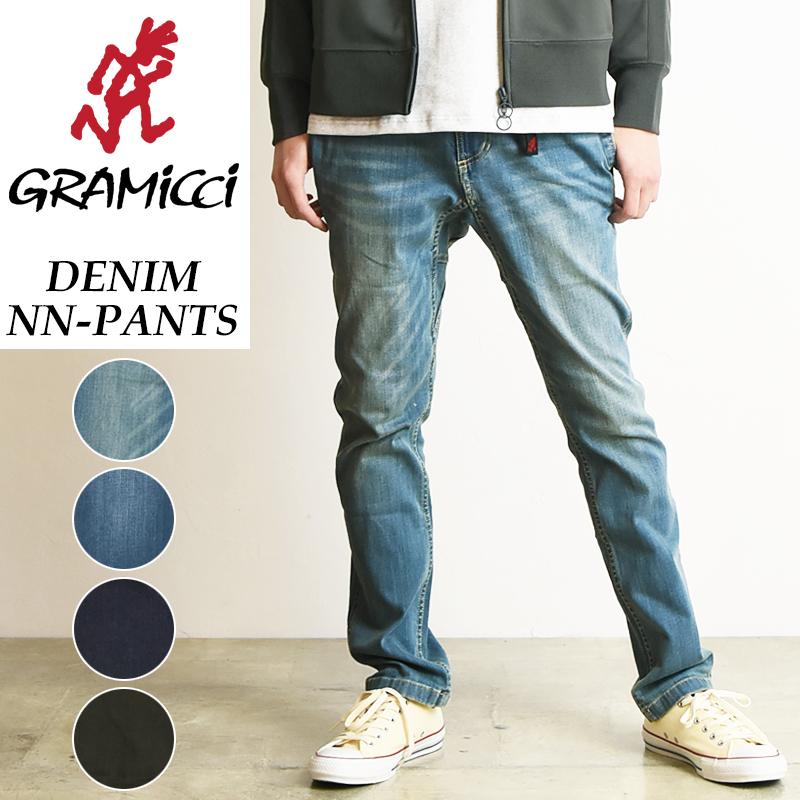 2019春夏新作 グラミチ GRAMICCI DENIM NN-PANTS デニムNNパンツ ニューナローパンツ ジーンズ クライミングパンツ メンズ GMP-19S009