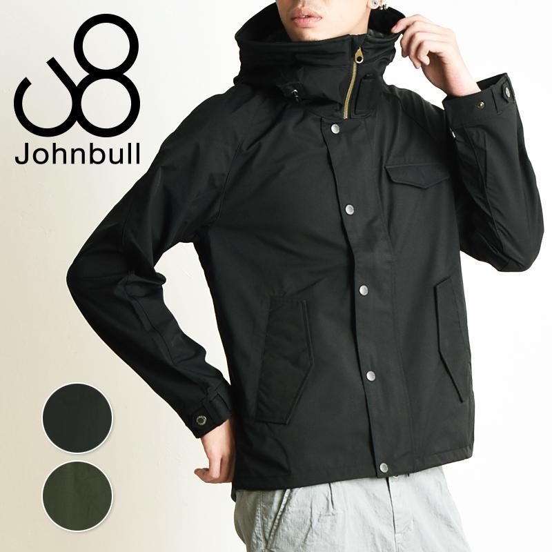 ジョンブル Johnbull ライトユーティリティ シェルジャケット テトラテックス 撥水 防水 透湿 防寒 ミリタリージャケット メンズ 16574