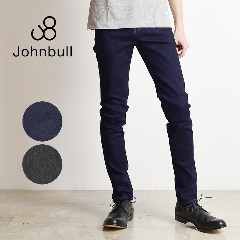 裾上げ無料 ジョンブル Johnbull メンズ フレックス スリム テーパード ジーンズ デニムパンツ 21142 ストレッチ