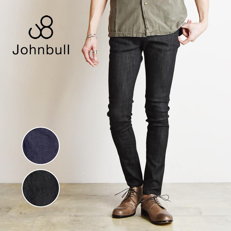 裾上げ無料 ジョンブル Johnbull メンズ フレックススキニージーンズ デニムパンツ ストレッチ 21144