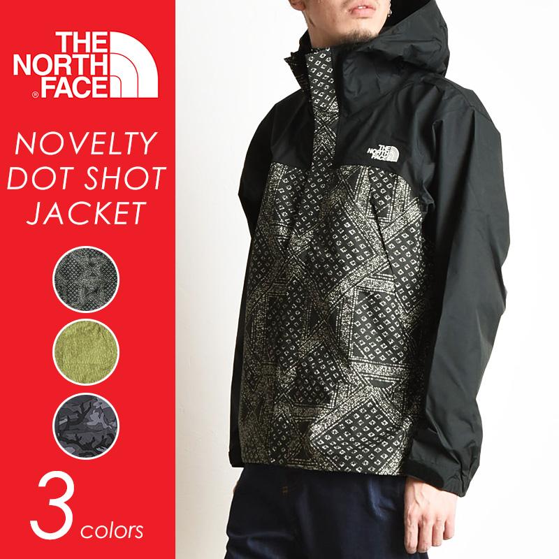 THE NORTH FACE ノースフェイス ノベルティ ドットショットジャケット(3色)NP61535 メンズ/マウンテンジャケット/マウンテンパーカー/ナイロンパーカー キャンプ アウトドア フェス