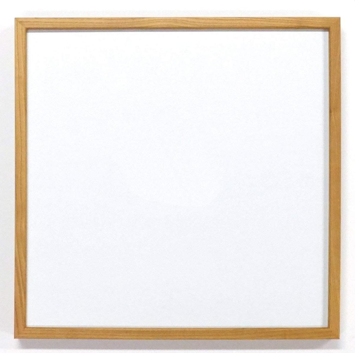 正方形額縁 L型 アクリル仕様 (20角・木地)