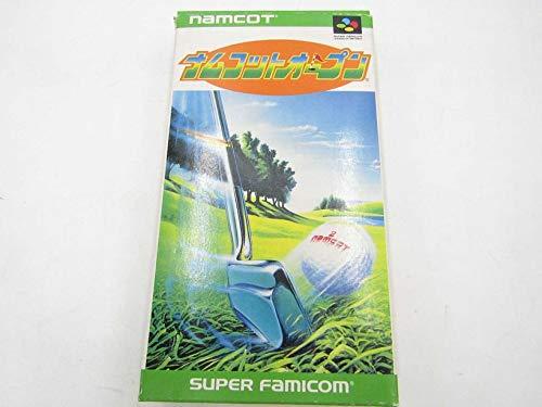 中古 ナムコットオープン video game スーパーファミコン 安値 業界No.1