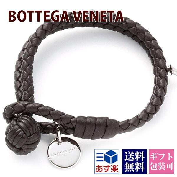 ボッテガヴェネタ BOTTEGA VENETA ブレスレット メンズ レディース レザー 本革 レザー ブラウン 113546 V001D 2006 Sサイズ 正規品 シンプル ブランド 新品 新作 2020年 ギフト プレゼント