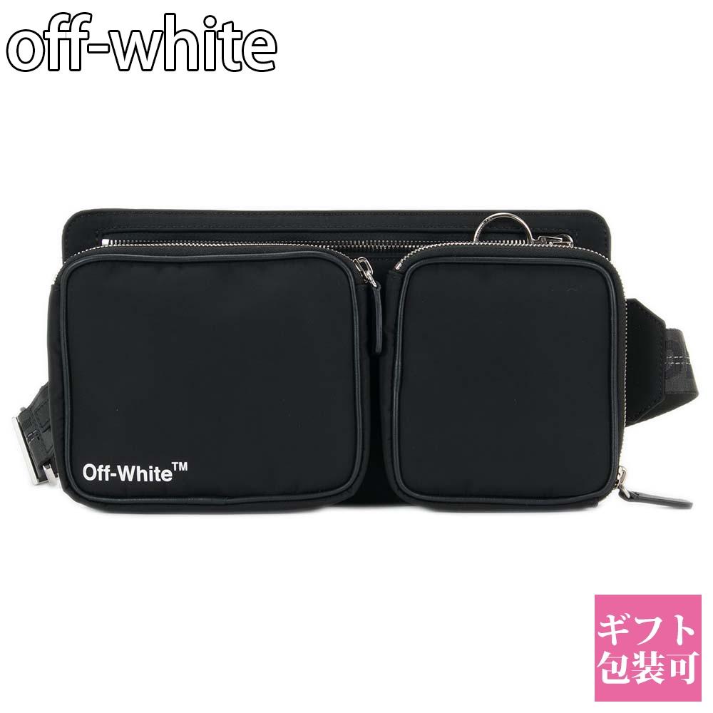 オフホワイト OFF-WHITE バッグ ショルダーバッグ ブラック 黒 【OFF WHITE ボディバッグ ウエストバッグ ウエストポーチ 小さい 小さめ 男性 ブランド 新品 正規品 セール VIRGIL ABLOH】