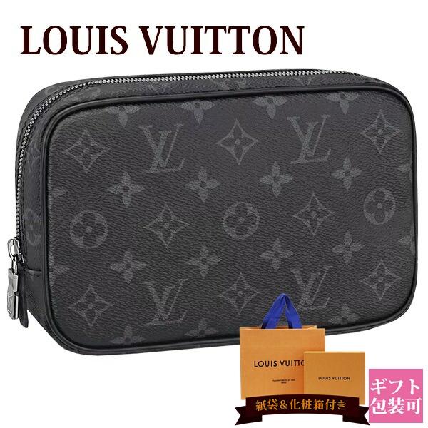 ルイヴィトン バッグ 鞄 かばん LOUIS VUITTON 新品 メンズ トラベルポーチ トゥルース・トワレ PM モノグラム・エクリプス M43384 ホワイトデー ギフト