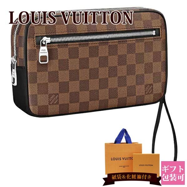 ルイヴィトン バッグ 鞄 かばん LOUIS VUITTON 新品 メンズ セカンドバッグ ポシェット・カサイ ダミエ・キャンバス N41663 ギフト ホワイトデー プレゼント