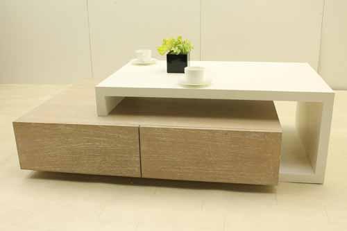 アウトレット家具 Baque de Loop コーヒーテーブル ローテーブル ctb-ko-h40 ミンディーウッド インテリア ホワイト 白