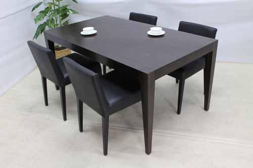 ●商品名:【新品】 Baque de Loop ダイニングテーブル 幅160 dtb-it-m マホガニー ブラウン 茶
