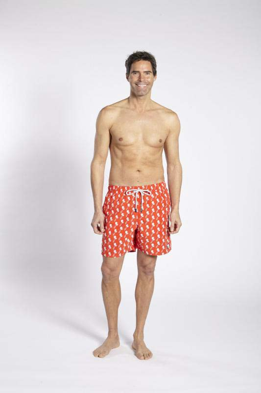 人気ブランド多数対象 クリックポストで発送 親子ペアデザイン有り Tom Teddy Poppy 低価格化 Red Kites カイト ポピーレッド トム テディー オーストラリアンスイムウェア サイズ 海パン サーフパンツ プール メンズ 水着 海水浴 男性用 ハーフパンツ