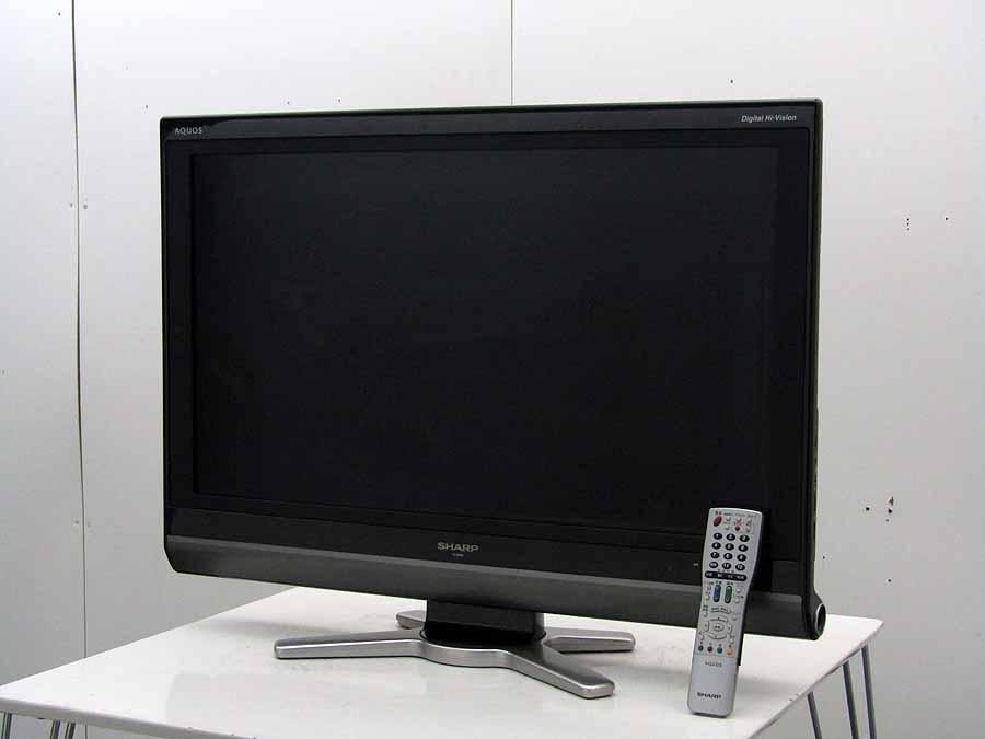 【あす楽】【中古 液晶テレビ】シャープ 32V型 ハイビジョン 液晶テレビ アクオス LC-32DE5 ブラック 2009年製