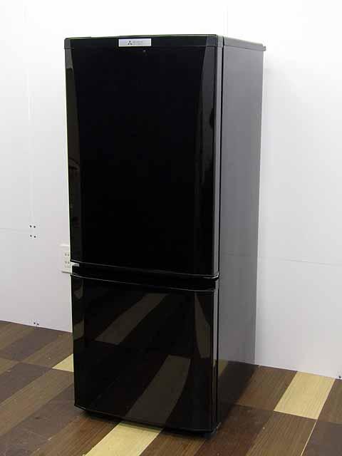 【あす楽】【中古】【冷蔵庫】三菱 MR-P15A-B 146L 2ドア サファイアブラック 2017年製 【M】 中古冷蔵庫 冷蔵庫 家電 キッチン家電 2~3人用 中型 激安