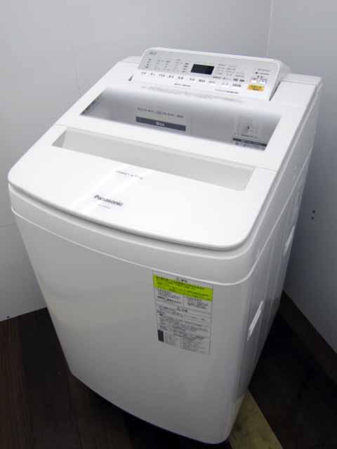 【中古】【洗濯機】パナソニック 全自動洗濯乾燥機 NA-FW80S6 即効泡洗浄 エコナビ ホワイト 2018年製 【L】中古洗濯機 洗濯機 家電 4~6人用 大家族 ファミリー 大型 激安 価格 安い おすすめ 一人暮らし 乾燥機能付