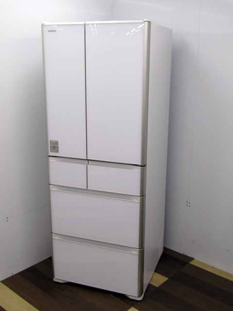 【中古】【冷蔵庫】 日立 R-XG5100H(XW) 6ドア 505L クリスタルホワイト 2018年製 状態:B 500リットル以上 ファミリー向け 家電 キッチン家電 大型 価格 安い おすすめ 人気 激安 大家族 キッチン