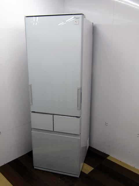 【中古 冷蔵庫】【シャープ】 SJ-GT41B-G 4ドア 410L 左右開き フロストグリーン プラズマクラスター 自動製氷 2016年製 状態:B 400リットル~ ファミリー向け 家電 キッチン家電 大型 価格 安い おすすめ 人気 激安 大家族 キッチン