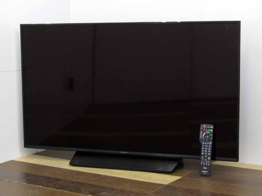 中古液晶テレビ PANASONIC VIERA TH-49GX855 ビエラ 49V型 4K対応 新作多数 チュナー内臓 CS4K TVケーブルおまけ 中古 液晶テレビ 現品 2画面機能 パナソニック BS4K