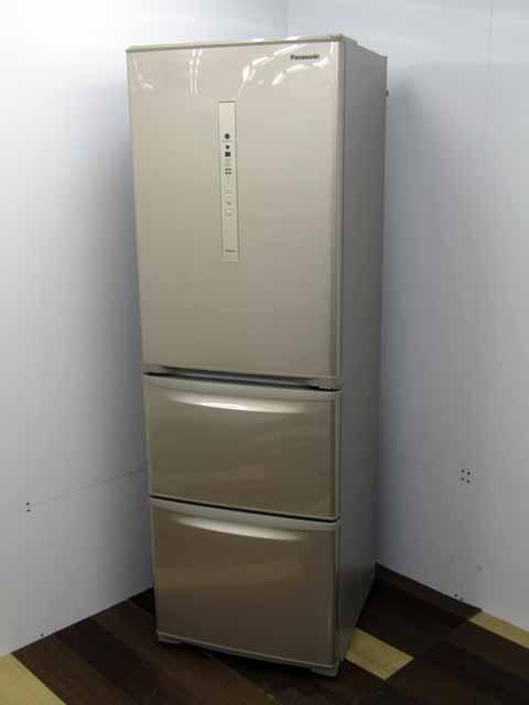 オリジナル 中古 冷蔵庫 Panasonic 3ドア 365L 右開き 格安SALEスタート エコナビ 自動製氷 シルキーゴールド パナソニック NR-C370C-N 安い キッチン おすすめ 激安 家電 中型 2~3人向け キッチン家電 人気 300リットル~ 価格